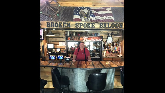 Morgan native Chad Huiras is the new owner of the Broken Spoke Saloon in Morgan. (Staff photo by Lori Kopischke)
