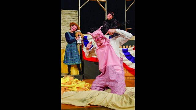 Gibbon native Jim Templin will play Wilbur in the State Street Theater Company's production of Charlotte's Web later this month. (Submitted photo)