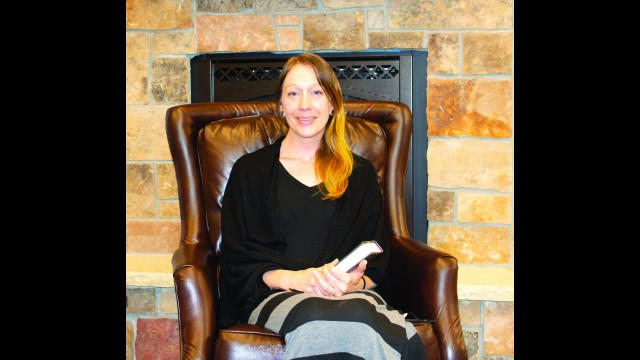 Sarah Long is the new Librarian of the Fairfax Public Library in Fairfax. (Staff photo by Paul Zaid)