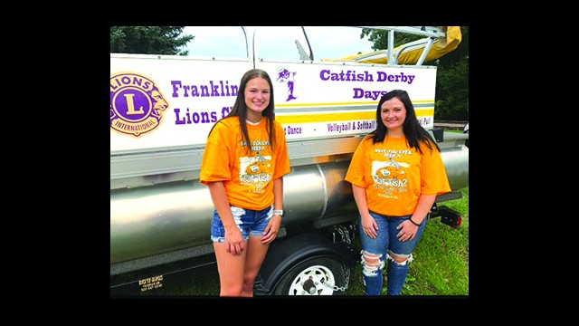 Mykenna Vollmer (left) and Madi Eichstadt (right) are this year's Miss Franklin Candidates. Don't miss the Annual Miss Franklin Pageant and Talent Show on Friday, July 23 at 7:00 pm at Cedar Mountain Elementary School to see which of these two lovely young ladies will represent Franklin for the next year!  (Submitted photo)